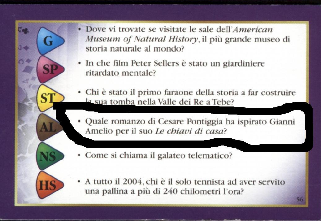 domande trivial pursuit